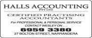 Halls Accounting